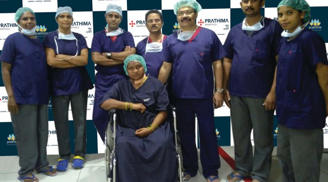 Rare Surgery performed by Prathima Hospitals, Kachiguda