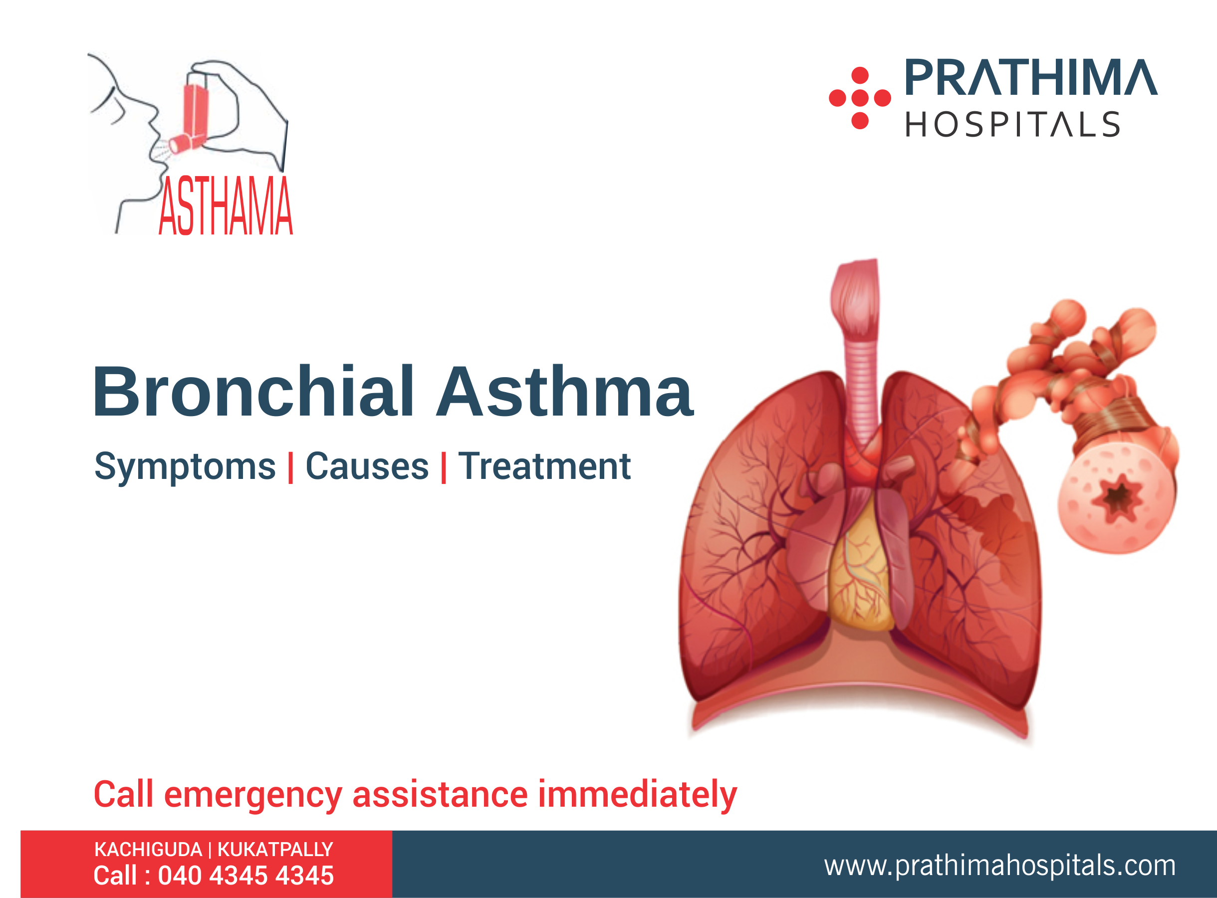 Did You Know Bronchial Asthma? Symptoms, Causes and Treatment