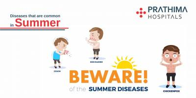 DISEASES  THAT  ARE COMMON IN SUMMER