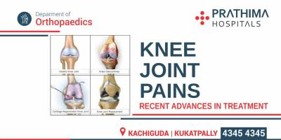 Knee Joint Pains – Recent Advances In Treatment