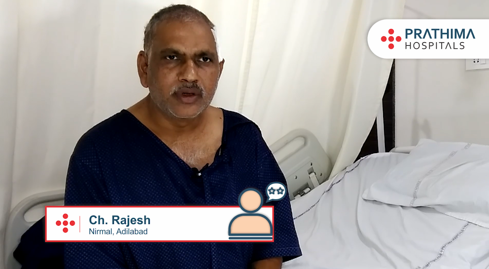 Prathima Hospitals | Patient Testimonial | Ch. Rajesh, Nirmal, Adilabad District