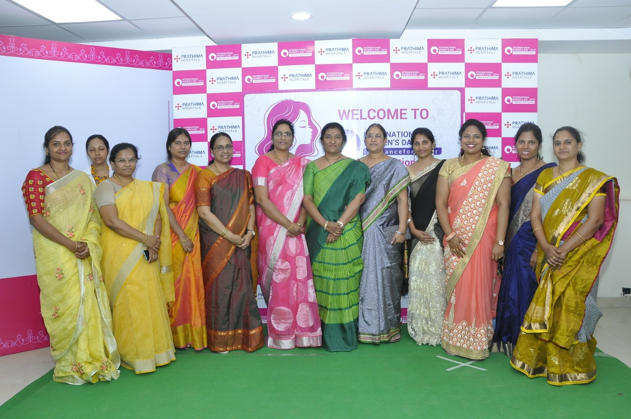 International Women's Day Celebrations at Prathima Hospitals, KPHB