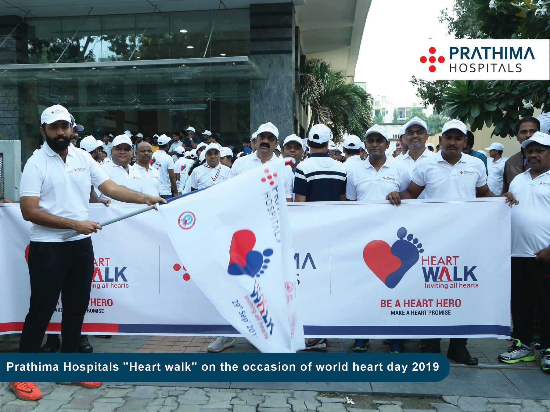 Heart Walk at Prathima Hospitals